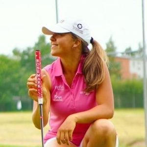 Jenna Mäihäniemi is a professional golf player from Finland